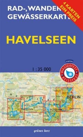 Kartenset Havelseen 1- 4