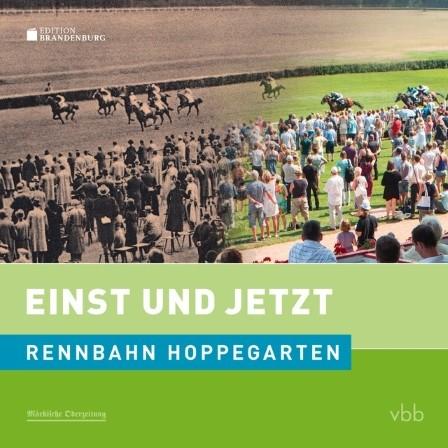Rennbahn Hoppegarten - Einst und Jetzt